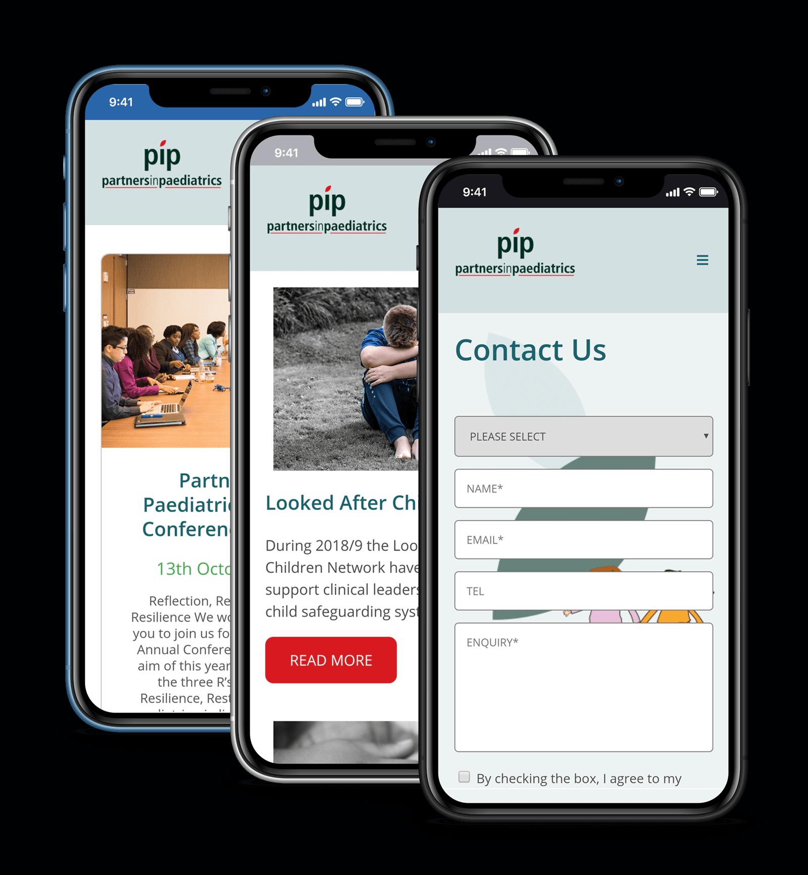 pip website iphone