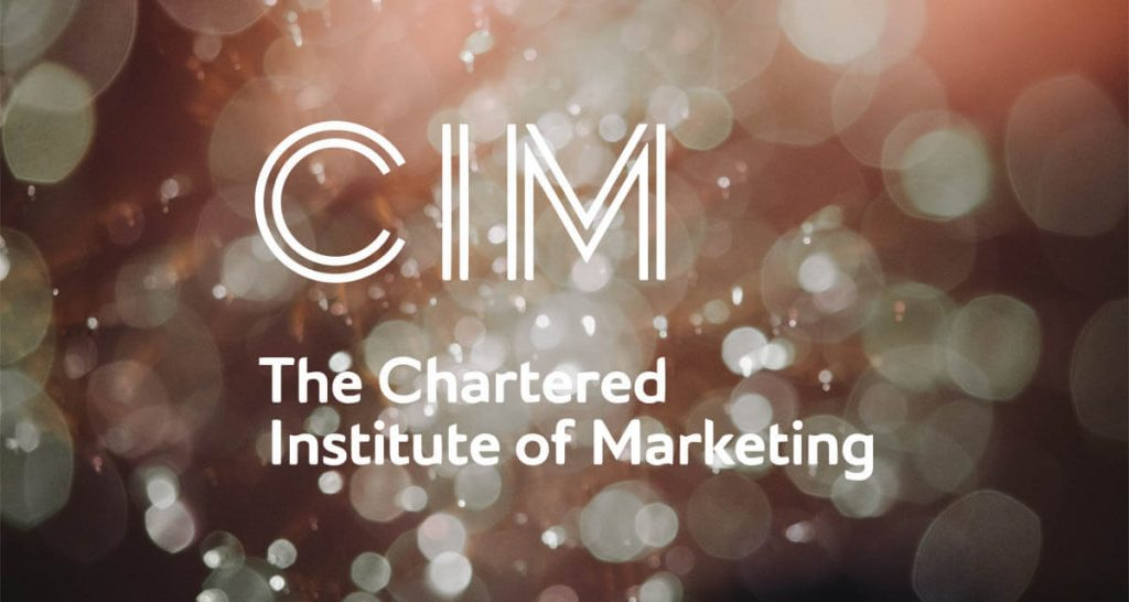 the Chartered Institute of Marketing CIM